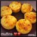 Muffins allégés pomme/ flocons d'avoine
