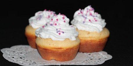 Cupcakes protéinés et legers